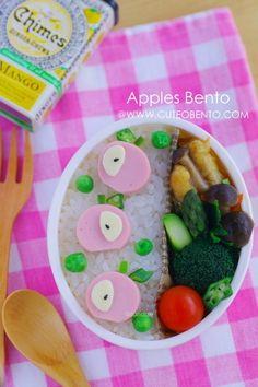 りんごのお弁当