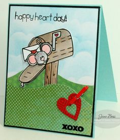 Cocoa Sends Love and More Valentines Sentiments Digital Stamps