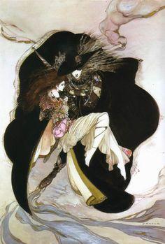 Vampire Hunter D. by Yoshitaka Amano
