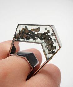 Platinum ring by Theresa Burger