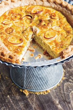 Sautéed leeks star in this traditional tart from the Picardy region in northern France.