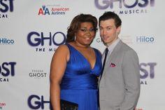 Ghost Opening Night: Da'Vine Joy Randolph and Bryce Pinkham