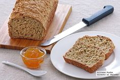 Easy bread for lazy people Nigella Lawson, Bread Recipes, Cooking Recipes, Pan Bread, Banana Bread, Bakery, Sweet, Ethnic Recipes, Desserts