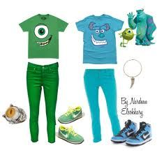 mike and sulley costume - Google Search