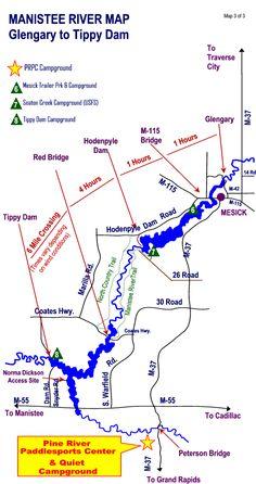 River Maps: Michigan