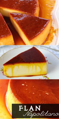 Flan napolitano in 2019 Donut Recipes, Mexican Food Recipes, Sweet Recipes, Dessert Recipes, Cooking Recipes, Caramel Flan, Creme Caramel, Flan Cake, Recipes From Heaven