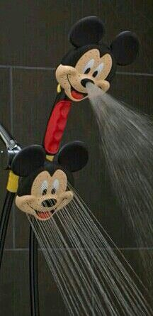 Mickey Mouse showerhead