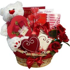 Art of Appreciation Gift Baskets Valentines Treasures Gift Basket with Teddy Bear Review