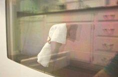 Fırın camlarının önündeki boşlukta biriken yağları temizlemek için...