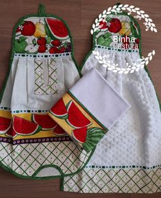 Dish Towels, Hand Towels, Towel Dress, Plastic Bag Holders, Hanging Towels, Aprons Vintage, Dresses Kids Girl, Cute Diys, Diy Home Crafts