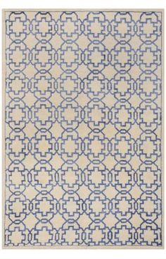 $5 Off when you share! Safavieh Mosaic MOS152 Cream Purple Rug
