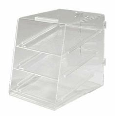 Carlisle SPD30007 See Thru Acrylic Pastry Display Case w/ 3-Trays, Non Refrigerated, Each by Carlisle. $294.35. Carlisle SPD30007 See Thru Acrylic Pastry Display Case w/ 3-Trays, Non Refrigerated. Pastry Display Case, see-thru, single service, non-refrigerated, shallow depth, acrylic construction, clear, (3) trays