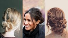 10 Messy Bun Ideas That Will Make You Feel Like Meghan Markle | The best products, tips, and tricks for styling a messy bun, including messy bun ideas an inspiration, based on Meghan Markle's signature updo.