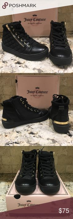 Juicy Couture Sneakers  Juicy Couture Sneakers NWT. These are on trend with the athleisure look right now! Juicy Couture Shoes Sneakers