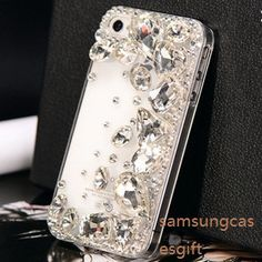 iphone 5s case bling gem iphone 5 case jewel by samsungcasesgift