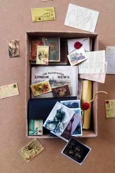 A matchbox stuffed with 1:12 Victorian ephemera #minishacks #dollhouseminiatures #dollhouse #12thscale #onceinchscale #victoriandollhouse #tinybjd #dollhouseproject #miniatures #shopsmall #minibooks #dollhousedecor #casademuñecas #puppenhaus #cute #tiny #handmadegifts