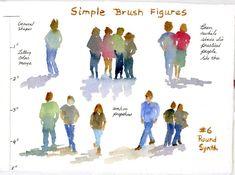 Brush Figures