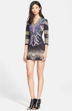 Just Cavalli Print Body-Con Dress available at #Nordstrom