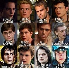 The men of my favorite books ❤
