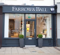exterior of farrow ball 39 s showroom in new york 39 s upper. Black Bedroom Furniture Sets. Home Design Ideas