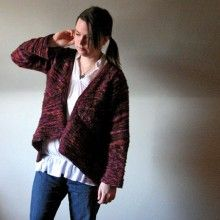What to knit? Indigirl Knits Elsewhere Cardigan Knitting Pattern
