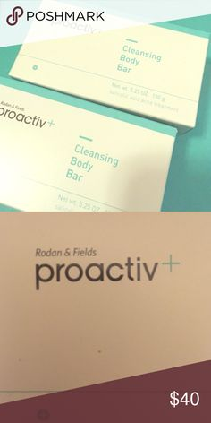 2 Proactiv Cleansing Body Bars 2 Cleansing Body Bars -- Never used, in original boxes. Doesn't come with tags but these are new! Proactiv Makeup