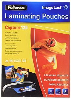 Fellowes 5307407 Pochettes de Plastification A4 125 microns par 100