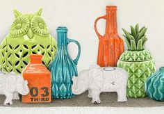 Vibrant ceramics from Temple and Webster
