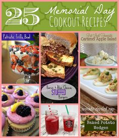 25 Memorial Day Cookout Recipes categories: Holidays, Recipes