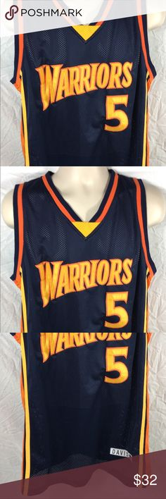 2f5666e06a8d NBA Golden State Warriors Baron Davis  5 Jersey Jersey is not authentic but  still well
