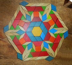 Pattern Block Design - J Opon | G1:27 Original Designs