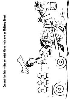 Image Result For Dr Seuss Mulberry Street Coloring Pages
