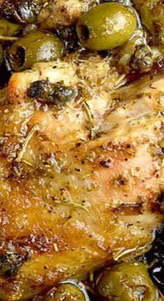 Chicken Marbella Recipe