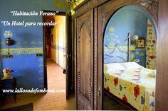 Habitación Doble #Verano #Hotel La LLosa de Fombona # Faro del #Cabo de Peñas #Luanco #Asturias .Siguenos en www.lallosadefomb...
