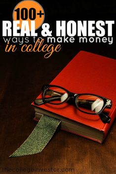 A list of over 100 real and honest ways that college students can make money - working, side jobs, selling stuff, and more.