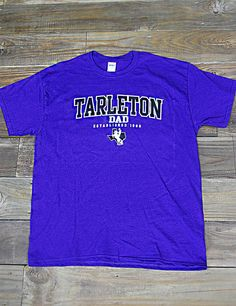 Hey Tarleton Dad! Show where your child and money go in this new Tarleton State University Dad t-shirt!