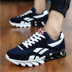 finest selection 547ef 7ccc9 Canvas sports shoes men - British style sneakers - Casual mens trainer –  Men s Shoe Mall