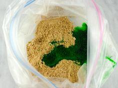 edible moss cookies step 3