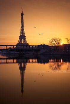 Eiffel Tower - Paris - France (von Beboy_photographies)