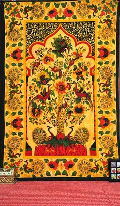 Hippie Hippy Tapestries Tree of life Wall Hanging by LavishJaipur