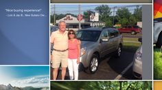 Dear Lois & Jay Booth   A heartfelt thank you for the purchase of your new Subaru from all of us at Premier Subaru.   We're proud to have you as part of the Subaru Family.