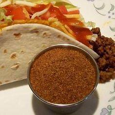 Assaisonnements à tacos maison