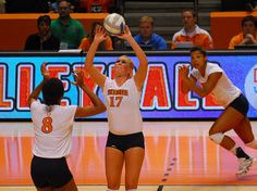 The setters volleyball role is to get to every second ball in order to run the team's offense by setting the hitter most likely to score a point or sideout. Volleyball Court Size, Volleyball Rules, Volleyball Skills, Volleyball Practice, Volleyball Setter, Volleyball Training, Female Volleyball Players, Volleyball Pictures, Volleyball Scoring