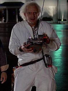 #BackToTheFuture (1985) - #EmmettBrown