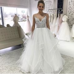 Pepper Gown by Hayley Paige at Inverness Bridal in Conway, AR