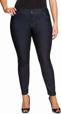 Fashion Bug Plus Size Brazilian Butt Lift Skinny Leg Jeans www ...