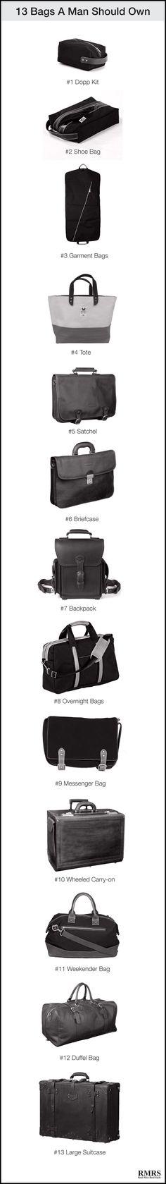 13 Bags A Man Should Buy
