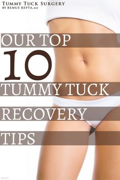 Scottsdale plastic surgeon shares 10 tummy tuck recovery tips