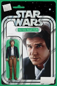Star Wars: Han Solo #1 variant cover by John Tyler Christopher *