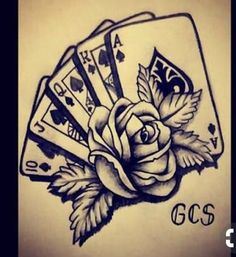 Hand Tattoos, 4 Tattoo, Neue Tattoos, Skull Tattoos, Body Art Tattoos, Sleeve Tattoos, Card Tattoo Designs, Skull Tattoo Design, Tattoo Designs Men
